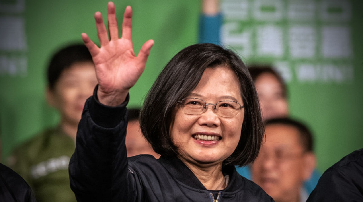 Taiwan: President Tsai Ing-Wen Wins Landslide in Stinging Result for China