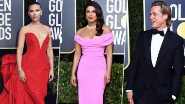 Golden Globes 2020 Best Dressed: Priyanka Chopra, Brad Pitt, Scarlett Johansson, Andrew Scott Make Voguish Appearances at the Award Ceremony (View Pics)