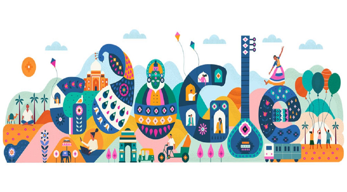 India Republic Day 2020 Google Doodle: Search Engine Giant Lauds Country's Diversity, Cultural Heritage on 71st R-Day