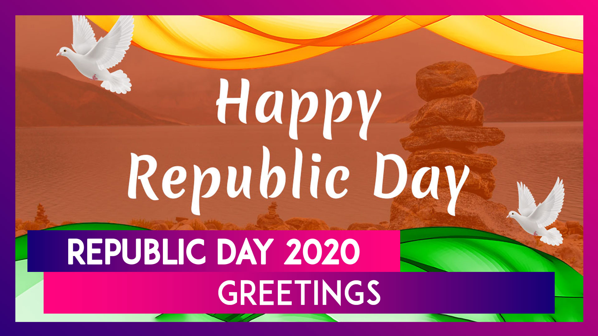 Republic Day 2020 Greetings: WhatsApp Messages, Quotes, Wishes & Images To Send On January 26