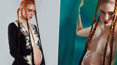 Elon Musk's Girlfriend Grimes Posts Another NSFW Picture to Announce Pregnancy After Instagram Took Down Her Topless Photo