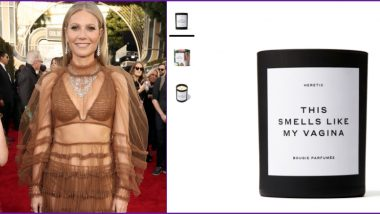 Gwyneth Paltrow's Candles That 'Smell Like Her Vagina' Are Already Sold Out!