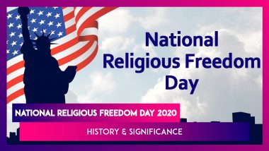 National Religious Freedom Day 2020: History, Significance Of The Day Celebrated Annually In USA
