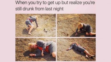 National Hangover Day 2020 Funny Memes: Hilarious Jokes and Images to Help You Sober Up After a Night of New Year Party Celebrations