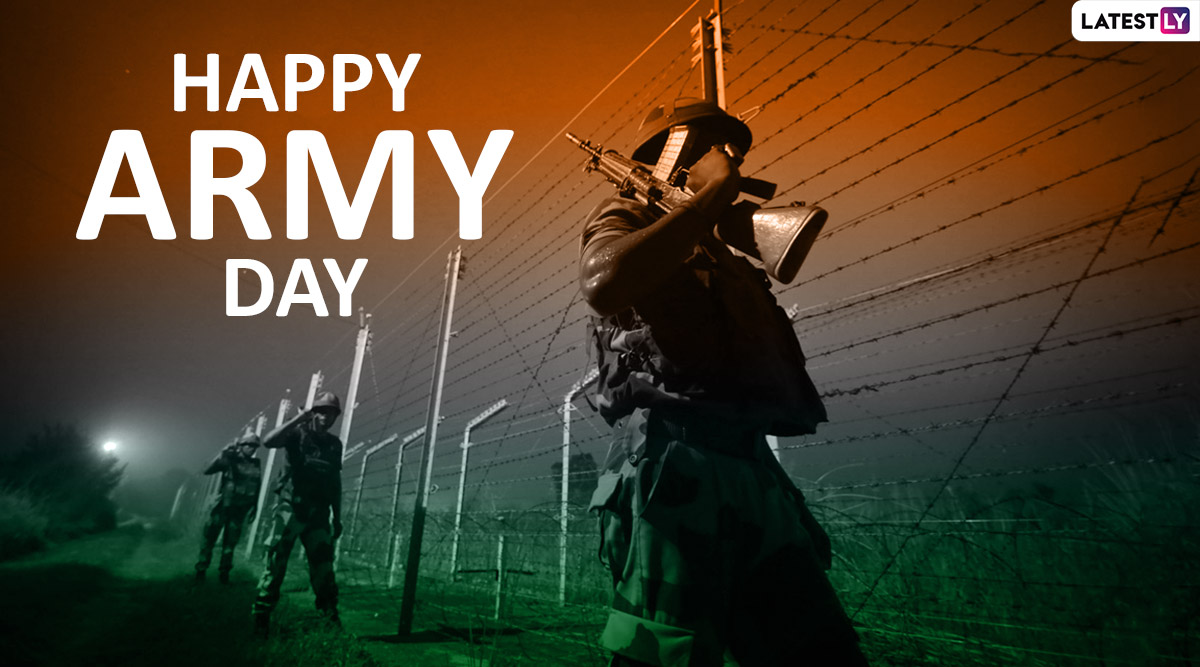 Army Day 2020 Wishes: WhatsApp Messages, Inspirational Quotes, Thank You Cards, SMS and Images to Greet Brave Soldiers of Our Nation