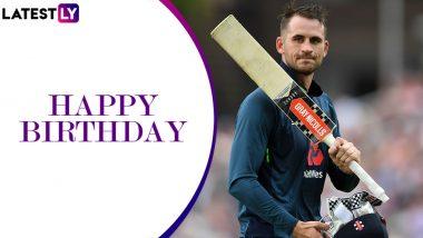 Happy Birthday Alex Hales: Top Knocks by England's Dashing Opening Batsman