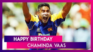 Happy Birthday Chaminda Vaas: Lesser Known Facts About Sri Lanka Bowling Great