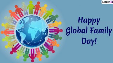 Happy Global Family Day 2020 Wishes: WhatsApp Messages, GIF Images, Quotes, SMS and Greetings to Mark UN's 'Day of Peace'