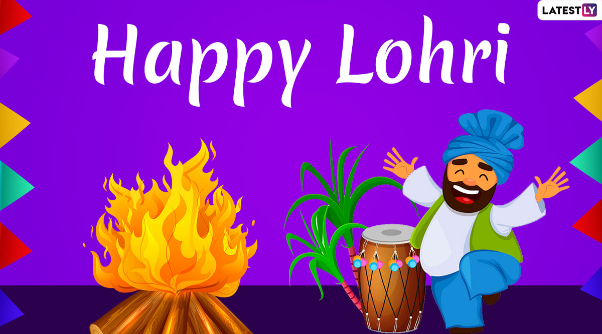 Happy Lohri 2020 Wishes and Messages: WhatsApp Stickers ...