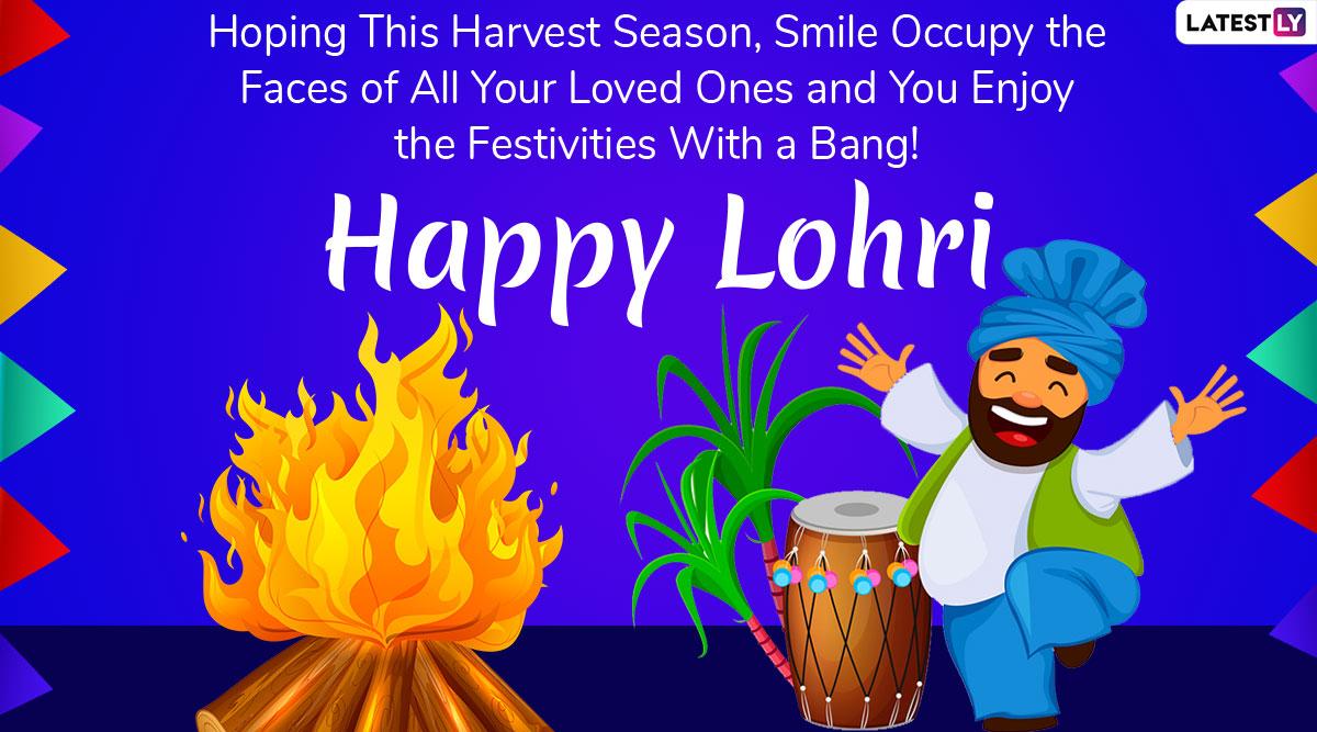 Happy Lohri 2020 Greetings: WhatsApp ...