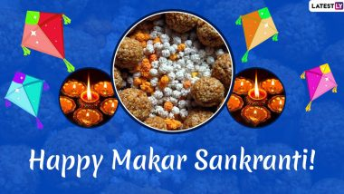 Happy Makar Sankranti 2020 Wishes & Uttarayan Greetings: WhatsApp Stickers, GIF Images, Quotes, Facebook Messages and SMS to Share With Family and Friends