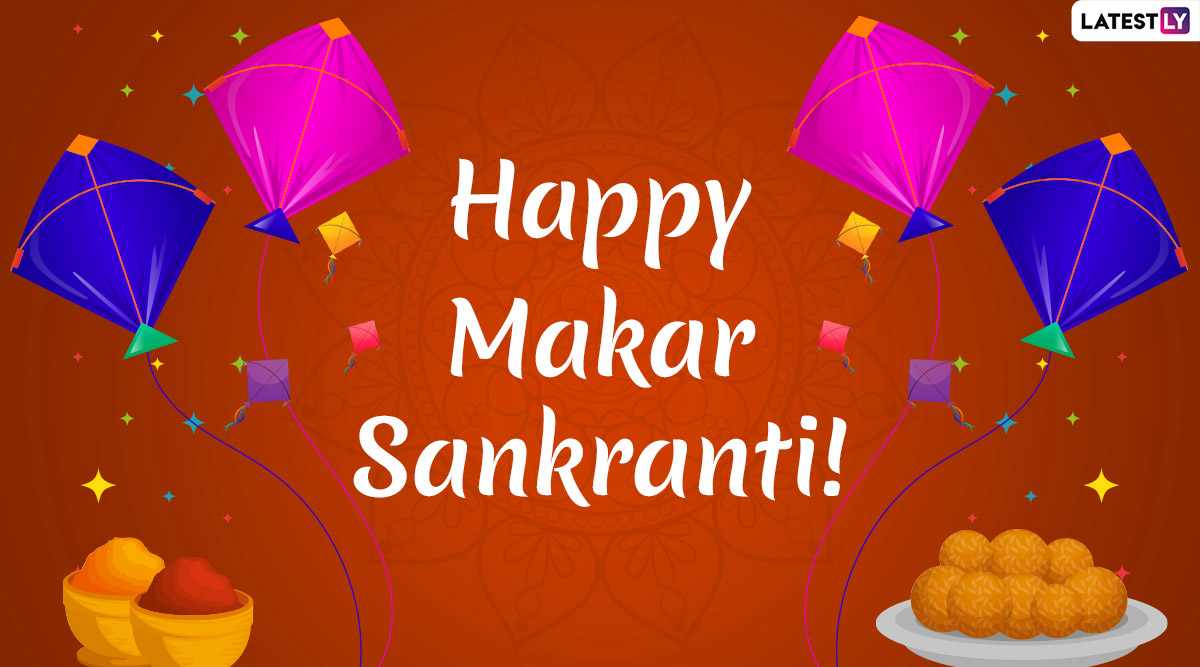 Makar Sankranti 2020 Wishes And Messages in Gujarati: Uttarayan WhatsApp Stickers, Facebook Greetigngs, GIF Images, Quotes, Photos and SMS to Celebrate Kite Flying Festival