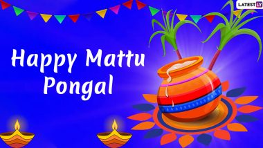 Mattu Pongal 2021 HD Images, Quotes & Greetings: Happy Thai Pongal Messages, Telegram Pics & GIFs to Celebrate the Harvest Festival