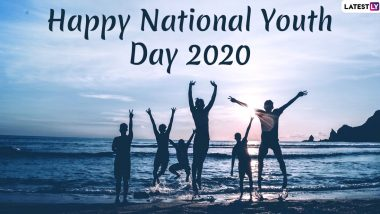 National Youth Day 2020 Images & Swami Vivekananda Jayanti HD Wallpapers for Free Download Online: Celebrate Rashtriya Yuva Diwas With WhatsApp Stickers, Greetings and Messages