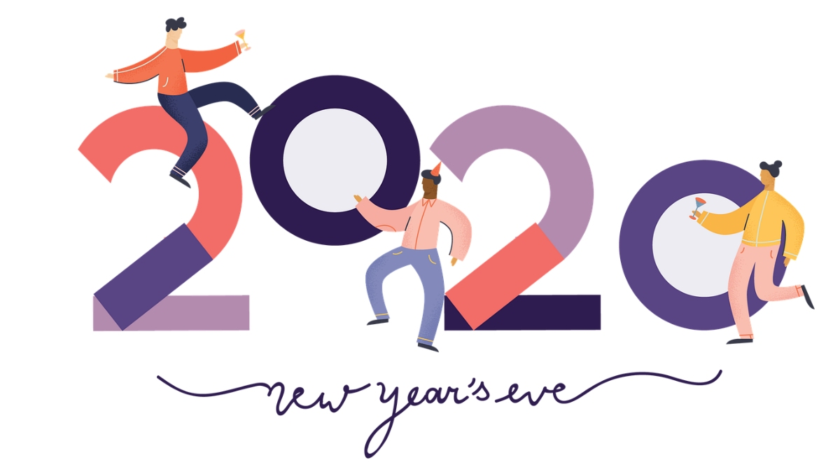 Happy New Year's Day 2020 Greetings & Good Morning HD Images: WhatsApp Stickers, Facebook Photos, HIKE GIF Messages, Quotes and SMS to Send to Family & Friends
