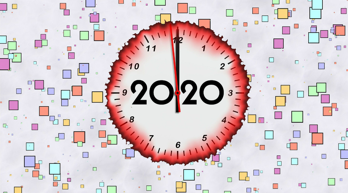 Happy New Year's Day 2020 Wishes & Good Morning HD Images ...