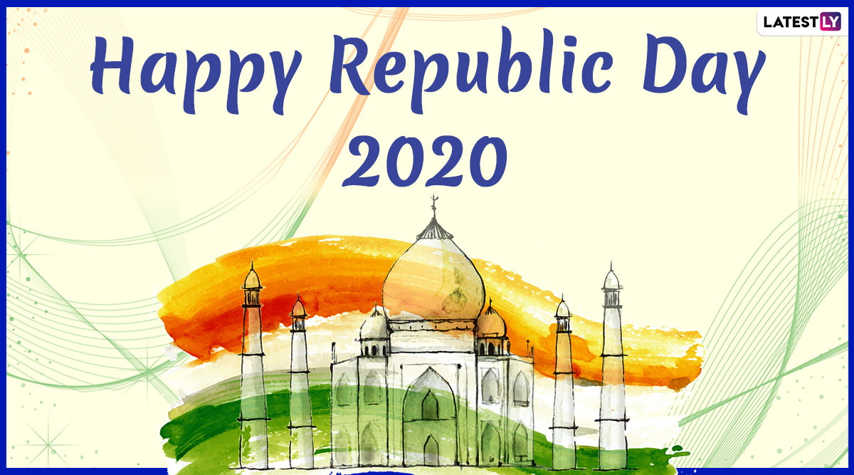 India Republic Day 2020 Images & HD Wallpapers For Free Download Online: Wish Happy 71st Republic Day With WhatsApp Stickers and GIF Messages