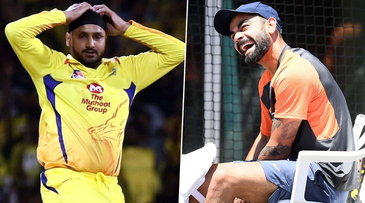 Virat Kohli Imitates Harbhajan Singh's Bowling Action Ahead of IND vs SL 2nd T20I, Indian Skipper's Hidden Talent Will Leave You in Splits (Watch Video)