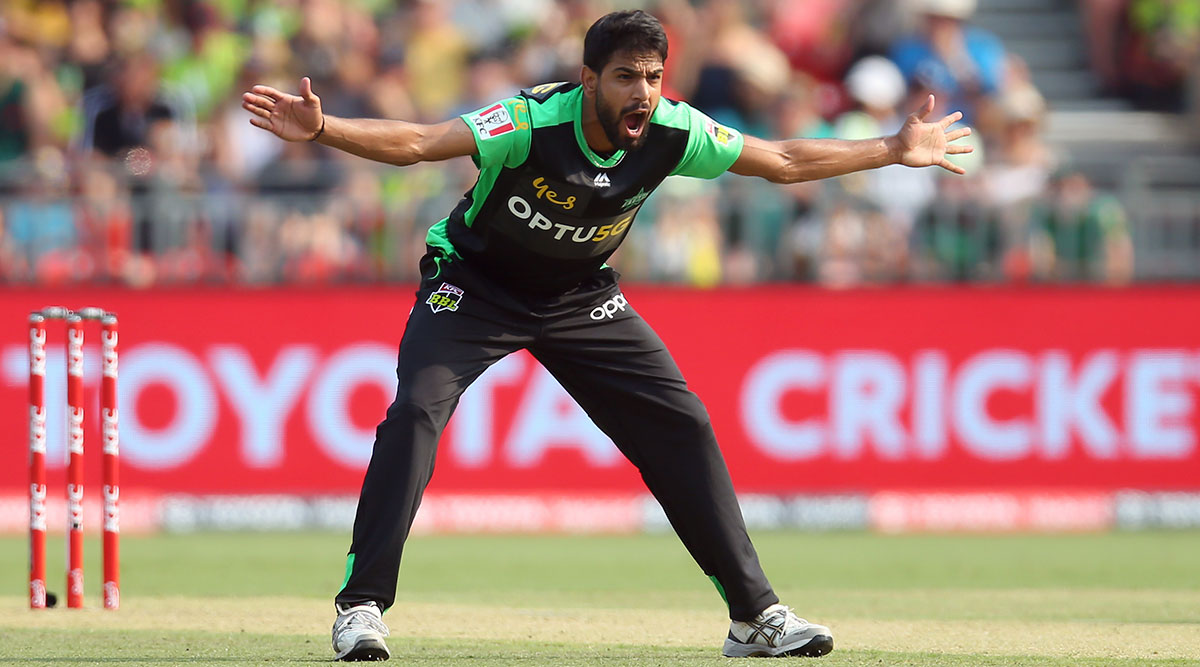 Haris Rauf Hat-Trick Video: Pakistan Pacer Takes Three Wickets in Three Balls for Melbourne Stars vs Sydney Thunder in BBL 2019–20