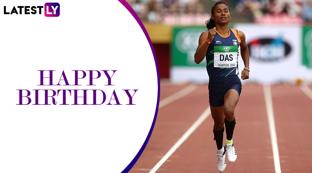 Hima Das Birthday Special: Interesting Facts About the Dhing Express on Her Birthday