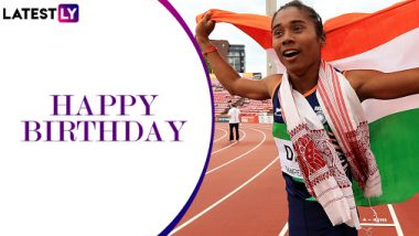Happy Birthday Hima Das: A Look at the Dhing Express' Incredible Records and Achievements