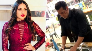 Bigg Boss 13: Himanshi Khurana Tags Salman Khan's Washing the Utensils Act a DRAMA, Says 'He's Getting Paid Rs 630 Crore' (Watch Video)