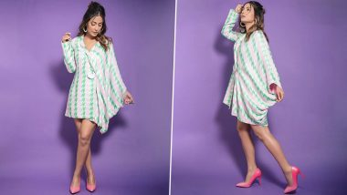 Hina Khan's Pricey Draped Jacket Is WOW But Sadly Can Only Be On Our Lust List!