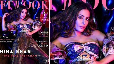 Hina Khan Stuns in an Off-Shoulder Corset as the Hacked Star Graces a Magazine Cover in This Super Hot Avatar (View Pic)