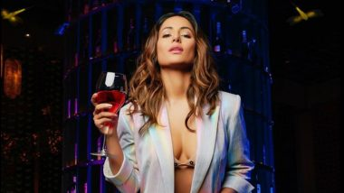Hina Khan Shows Off Sexy Cleavage in This Hot Pantsuit Avatar! View Pic of Hacked Actress