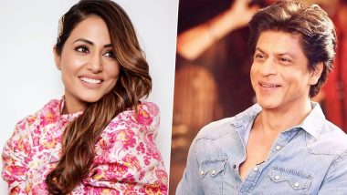Hina Khan Calls Shah Rukh Khan Humble; Recalls How King Khan Agreed to Click a Pic When She Met Him for the First Time