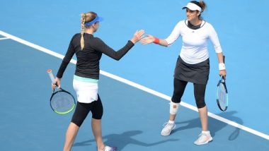 Sania Mirza-Nadiia Kichenok vs Zhu Lin-Han Xinyun, Australian Open 2020 Live Streaming Online: How to Watch Live Telecast of Aus Open Women's Doubles First Round Tennis Match?