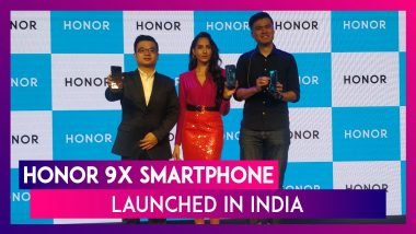 Honor 9X Smartphone With 48MP Triple Camera Launched in India; Prices, Features, Variants & Specs