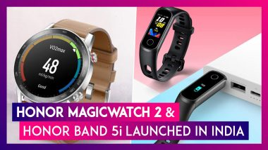 Honor Band 5i & Honor MagicWatch 2 With New Impressive Features Launched In India; Check Prices, Variants, Features & Specifications