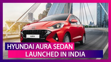 2020 Hyundai Aura Sedan Launched In India; Prices, Features & Specifications