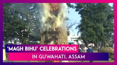 People Celebrate 'Magh Bihu' With Great Enthusiasm In Guwahati, Assam