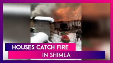 Shimla: A Dozen Houses Catch Fire In The Hill City