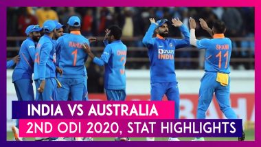 IND vs AUS Stat Highlights, 2nd ODI 2020: India Beat Australia To Level Series