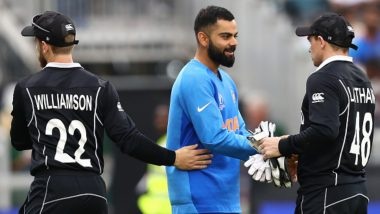 India vs New Zealand 2020 Schedule in IST, Free PDF Download: Get Fixtures, Time Table With Match Timings and Venue Details of IND vs NZ T20I, ODI and Test Series