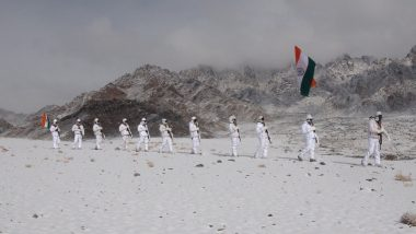 Republic Day 2020 Live News Updates: ITBP Jawans Hoists Indian Flag at 17,000 Feet in Ladakh