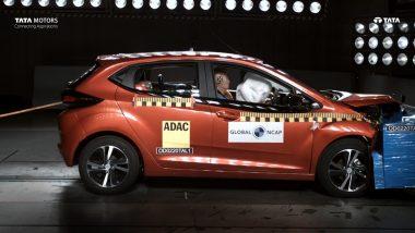 Tata Altroz Premium Hatchback Scores 5-Star Safety Rating in Global NCAP Crash Tests