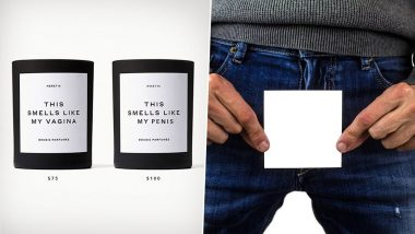 NEW Penis-Scented Candle Costs 25 Percent More than Gwyneth Paltrow's 'This Smells like My Vagina' to Draw Attention Towards Gender Pay Gap