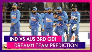 India vs Australia Dream11 Team Prediction, 3rd ODI 2020: Tips To Pick Best Playing XI
