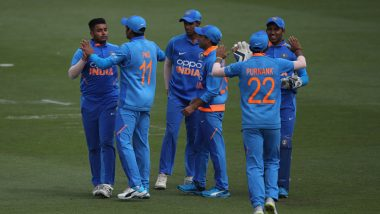 India U19 vs Afghanistan U19 Live Streaming Online of ICC Under-19 Cricket World Cup 2020 Warm-up Match: How to Watch Free Live Telecast of IND U-19 vs AFG U-19 CWC Practice Match on TV