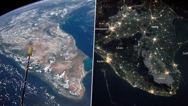 NASA's Pictures of India by Night And Day Taken 48 Years Apart Shows Stark Contrast (See Photo)