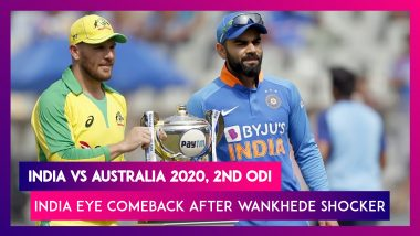 India vs Australia 2020, 2nd ODI At Rajkot Preview: India Eye Comeback After Wankhede Shocker