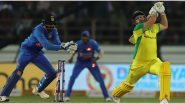 IND 51/2 in 7 Overs| India vs Australia 1st T20I 2020 Live Score Updates: Mitchell Swepson Removes Virat Kohli