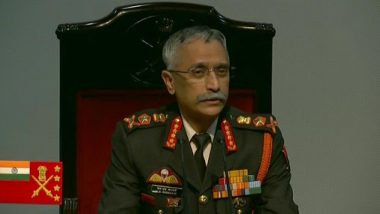 Indian Army Chief MM Navarane Says 'If Parliament Wants, PoK Will be Ours'