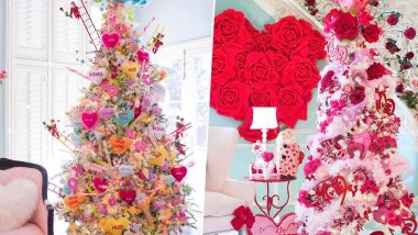 Valentines Day 2020: Netizens Upcycle Christmas Trees to Create Beautiful Valentines Trees! Instagram LIT with Breathtaking Pics