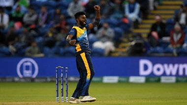 Isuru Udana Retires From International Cricket, Sri Lankan Seamer Says 'It's Time for Me to Make Way for Younger Generation of Players'