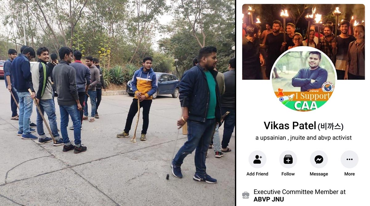Did Delhi Police Identify ABVP's Shiv Poojan Mandal as Vikas Patel in its Press Conference on JNU Violence? Here's What Netizens Are Saying